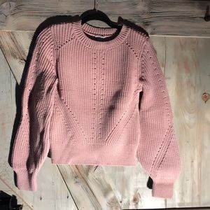 H&M balloon sleeve sweater